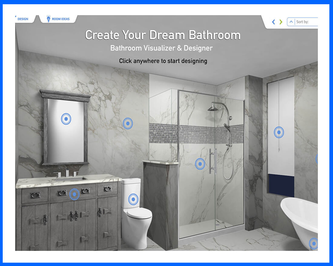 Bath Visualizer - Floor Expo & Design